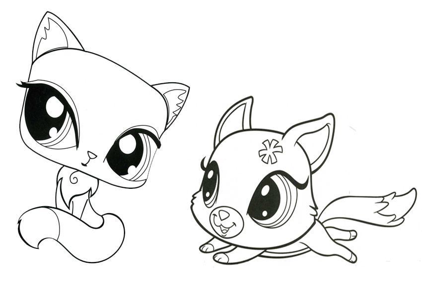 Littlest Pet Shop Para Colorear Pintar E Imprimir on Coloring Pagis
