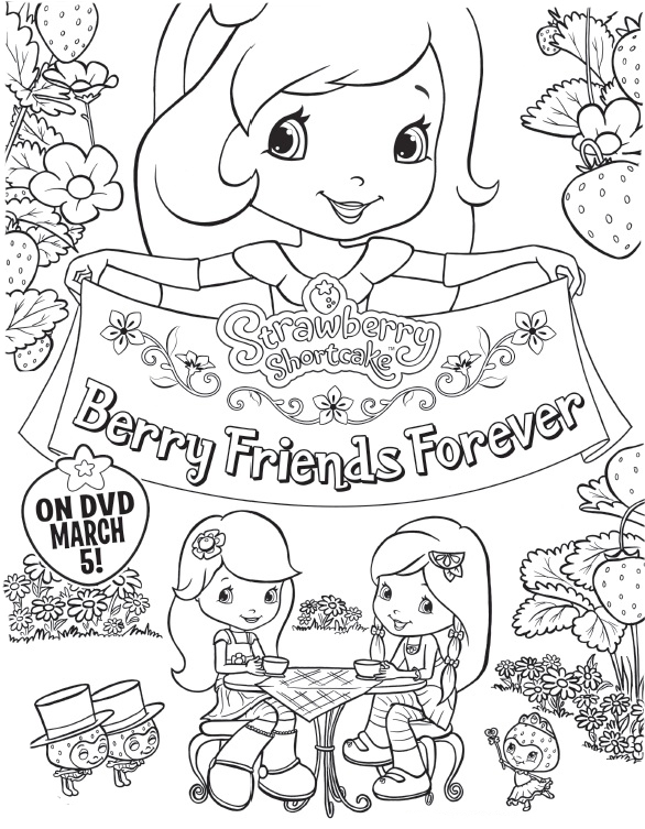 strawberry berry friends color1